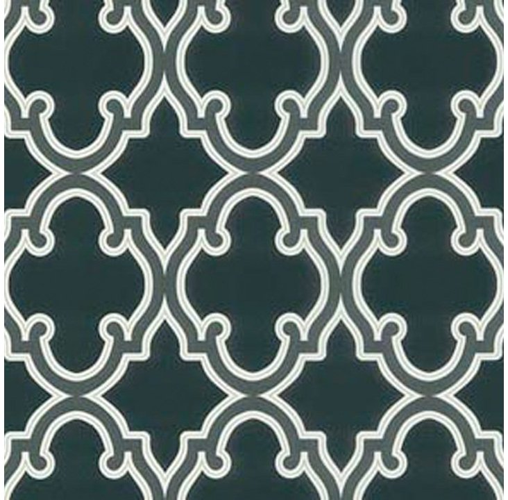 Moroccan Gothic Grate, Black