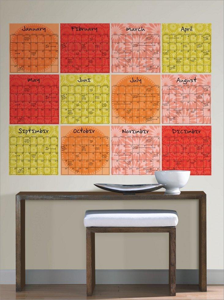 Carnivale 12-Piece Calendar Set