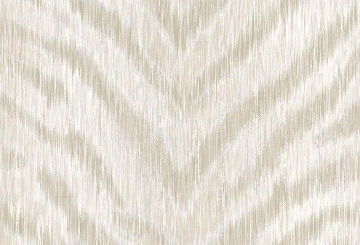 Zambia Textured Pattern Wallpaper, Cream