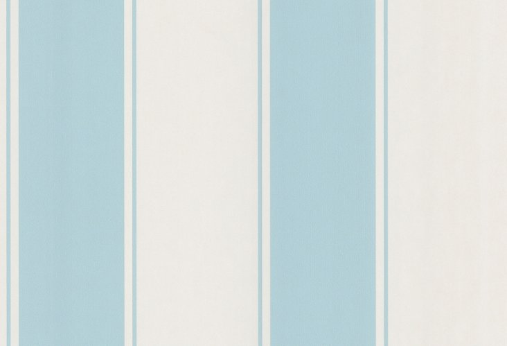 Blair Stripe Wallpaper, Blue