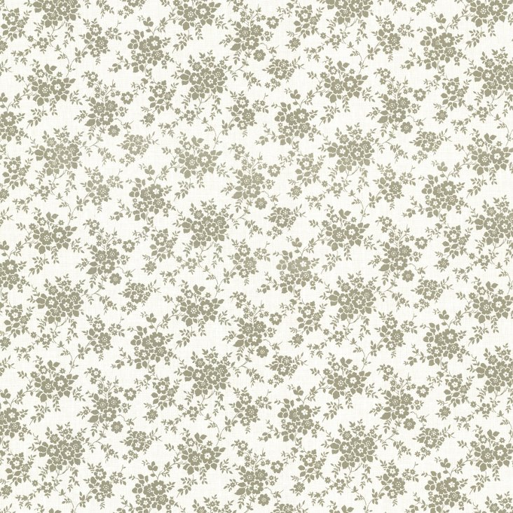 Dainty Small Floral, Sage