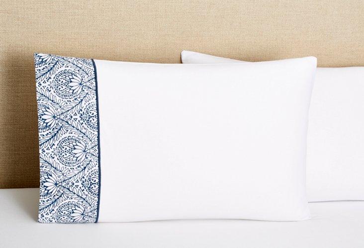 S/2 Marrakesh Std Pillowcases, Indigo