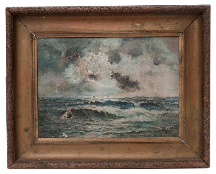 Oil Painting, Seascape