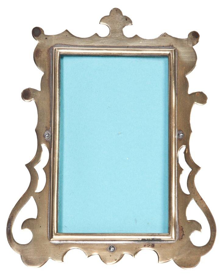 Ornate Brass Frame