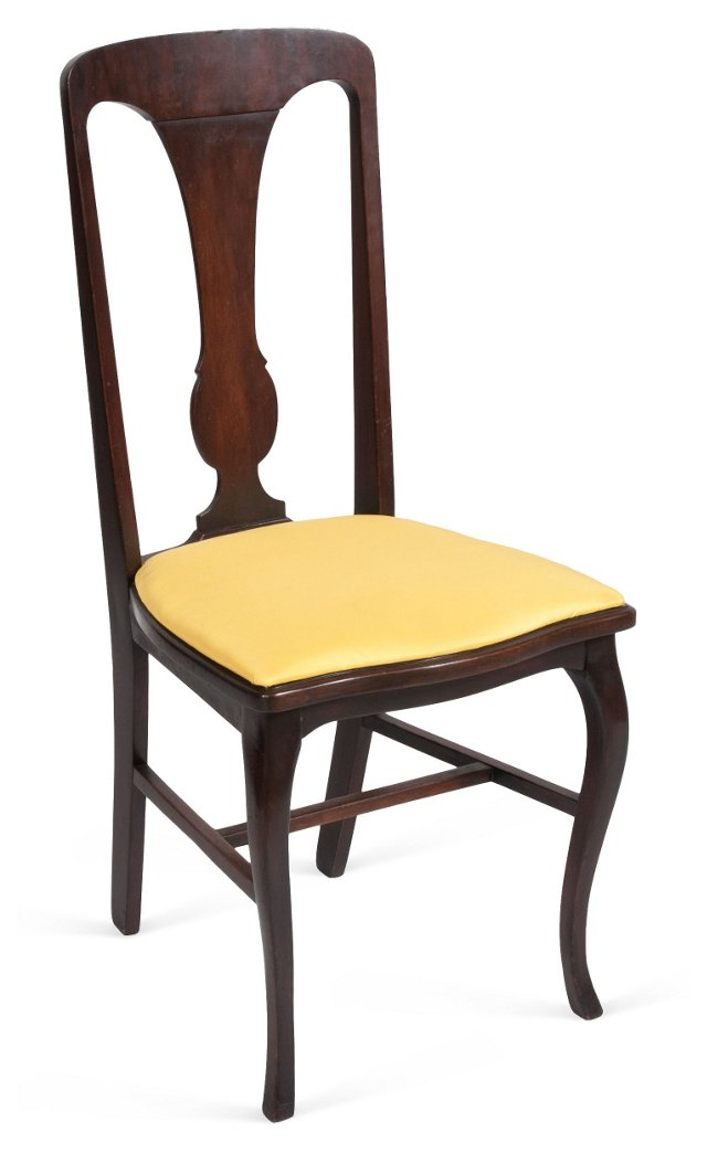 Side Chair w/ Yellow Seat