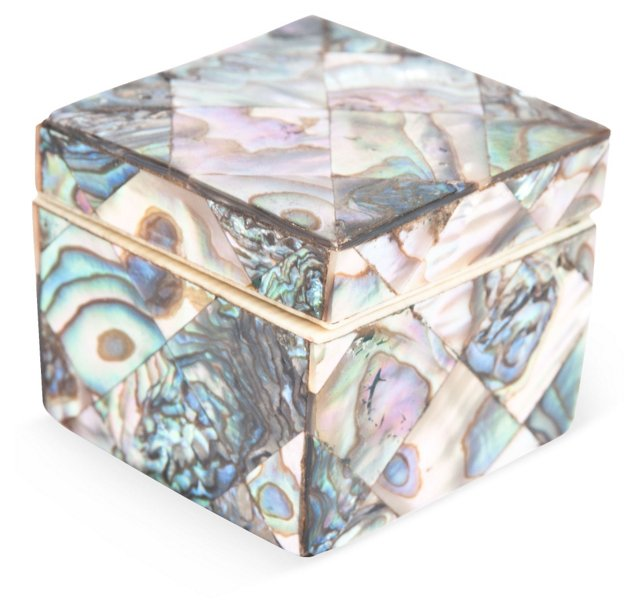 Victorian Mother-of-Pearl Box