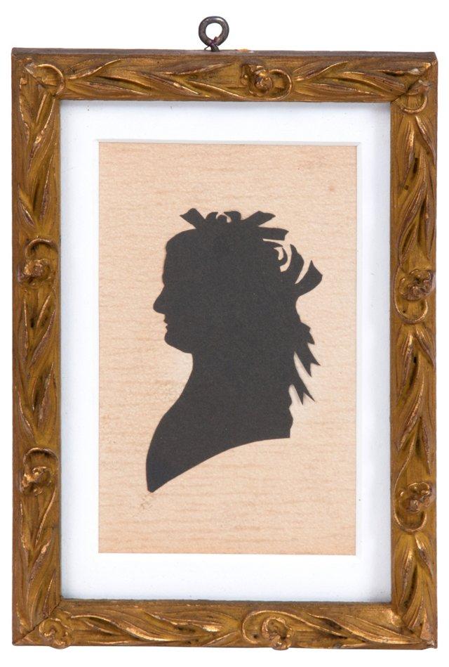 1890s Framed Silhouette
