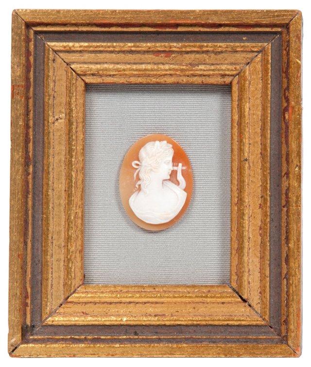 1890s Framed Cameo Brooch II