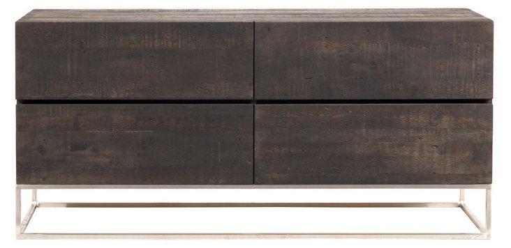 Newport 4-Drawer Dresser, Wenge