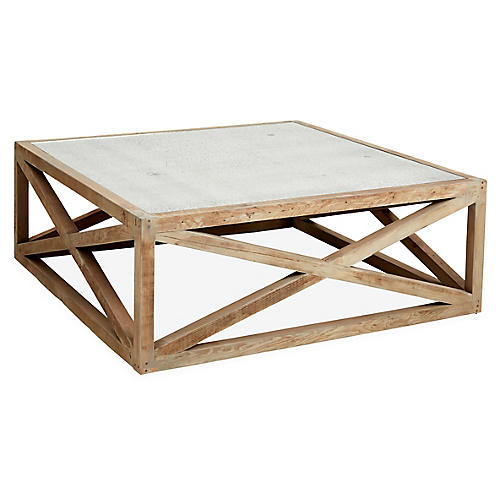 Manning Coffee Table, Natural