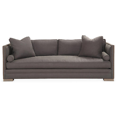 Oliver Sleeper Sofa, Slate