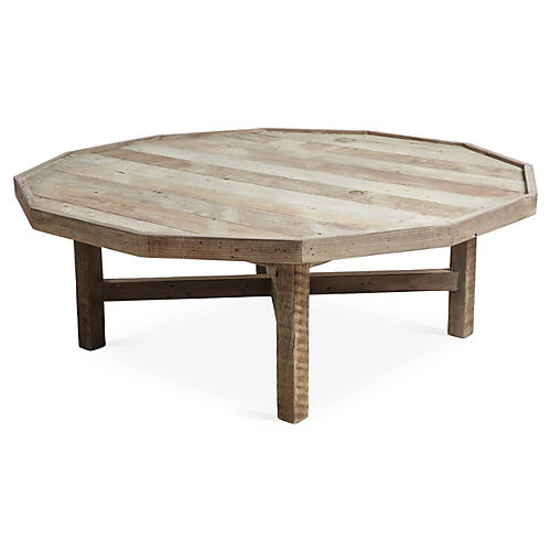 Octavia Coffee Table, Natural