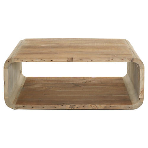 "Spyro 36"" Coffee Table, Natural"