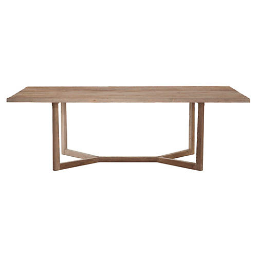 "Ranson 100"" Dining Table, Natural"