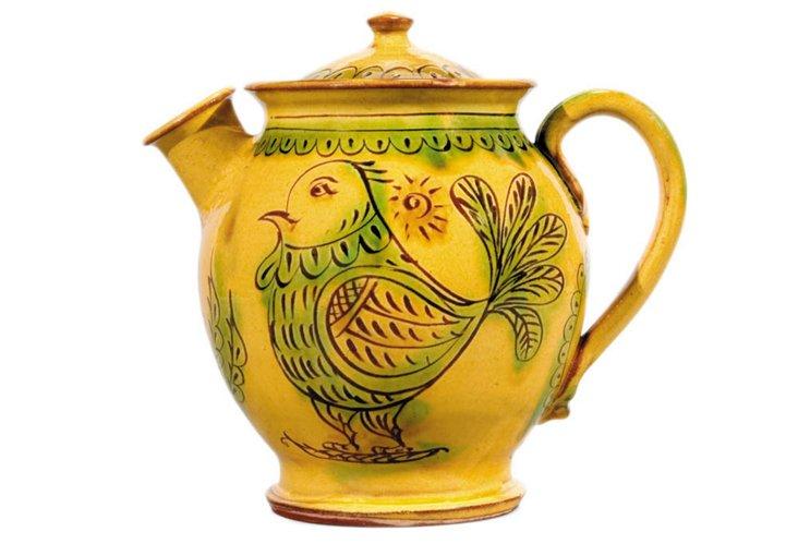 Turnovo Teapot w/ Birds