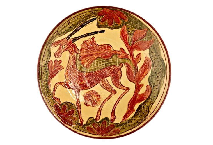 Antelope Plate, Earth and Green