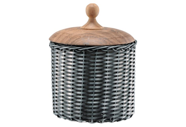 "7"" Iron Weave Canister"