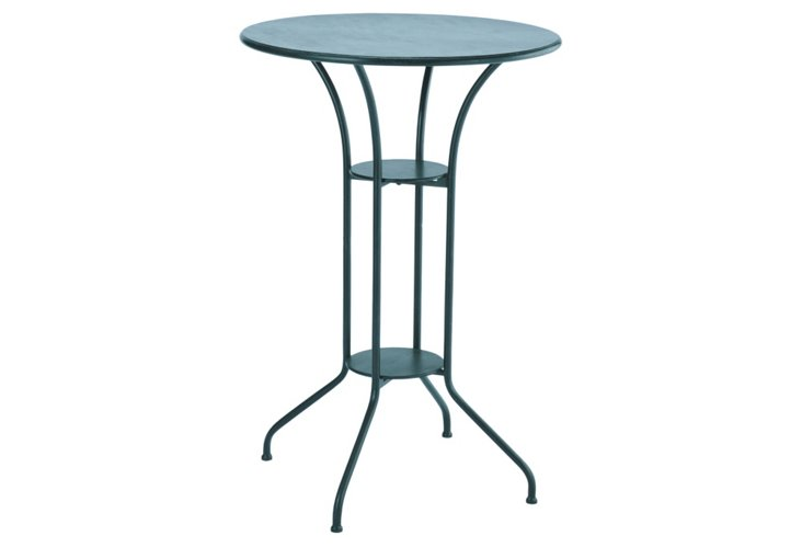 Raleigh Iron Round Bistro Table