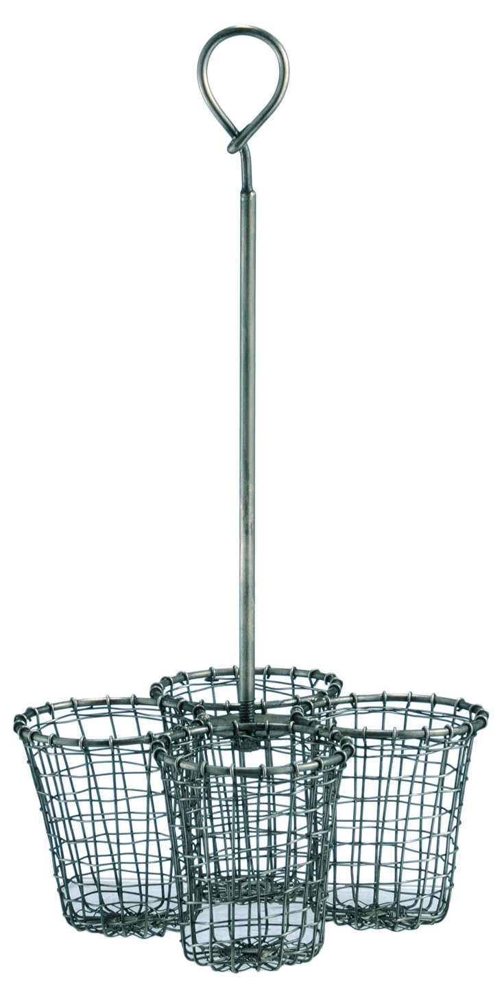 Wire Cup Caddy