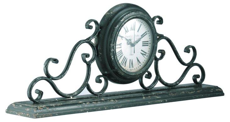 Iron Mantel Clock