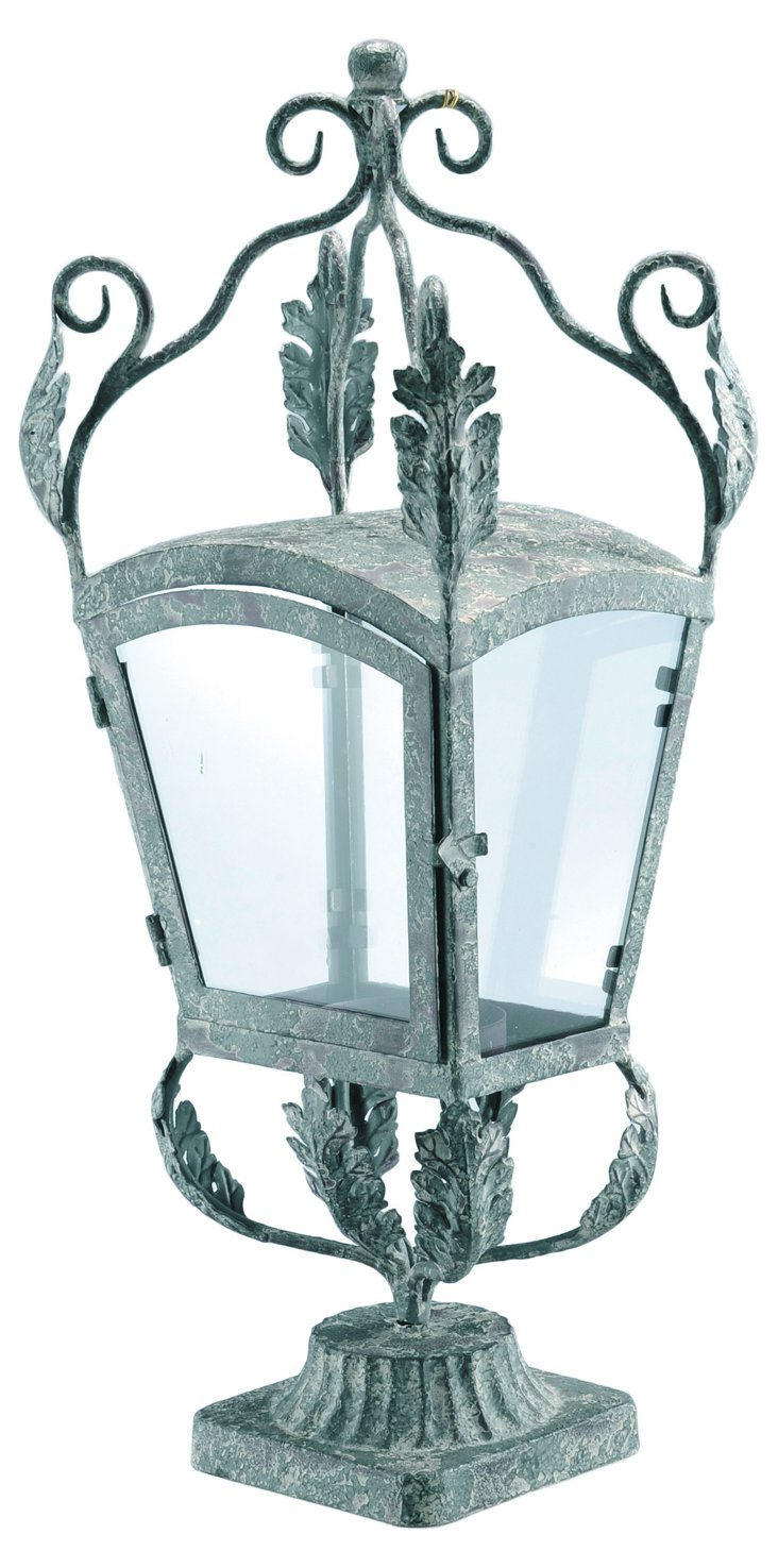 Iron & Glass Lantern
