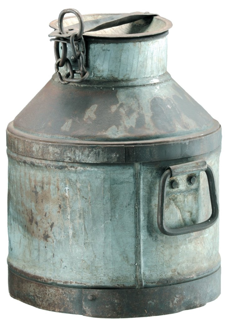 Weathered Milk Can