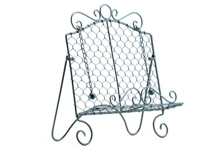 Wire Cookbook Stand