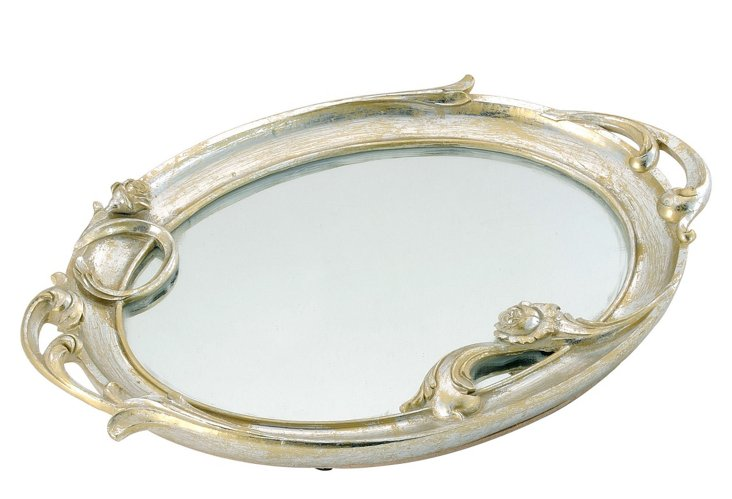 French Mirrored Tray