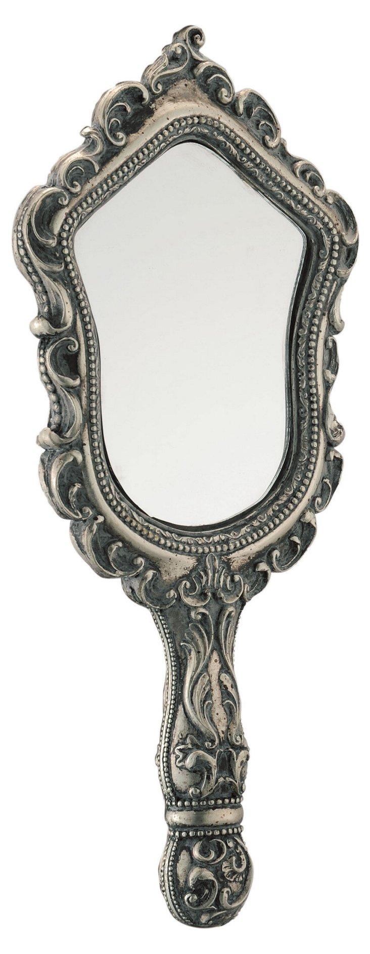 "11"" Embellished Hand Mirror"