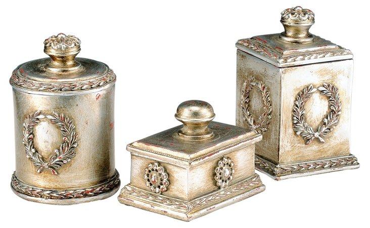 Asst. of 3 Laurel Boxes