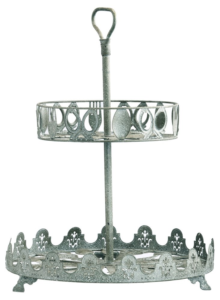 "20"" Two-Tier Cutlery Tray"
