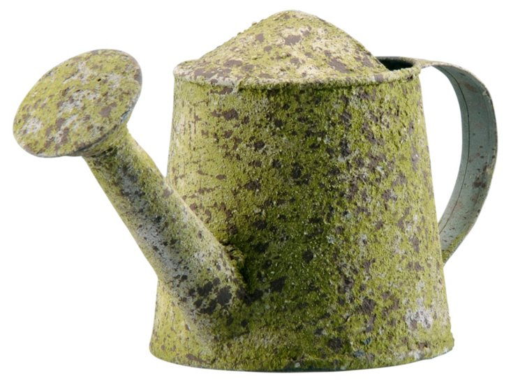 Watering Can, Mossy Green