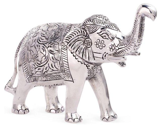 "8"" Metal Elephant"
