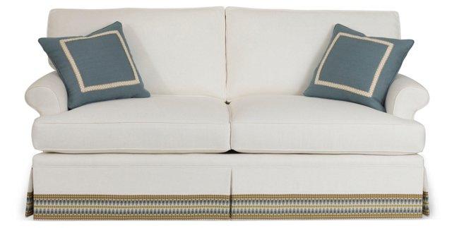 "Montrose 78"" Skirted Sofa"