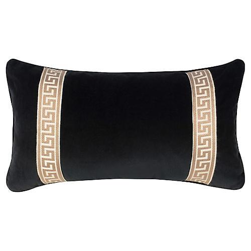 Robertson 12x23 Pillow, Black
