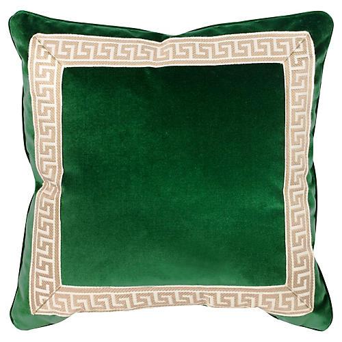 Robertson 20x20 Pillow, Emerald