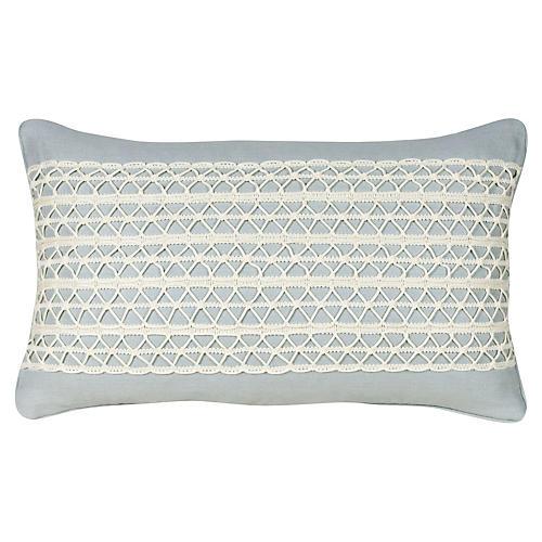Glynn 12x20 Pillow, Serenity Linen