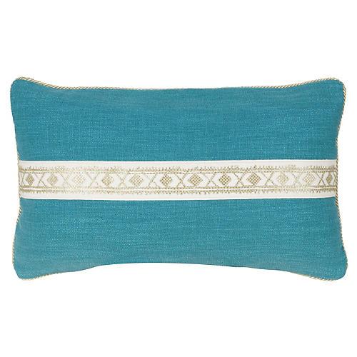 Fiene Pillow 12x20 Pillow, Turq