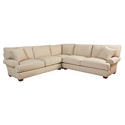 Benson Sectional, Sand