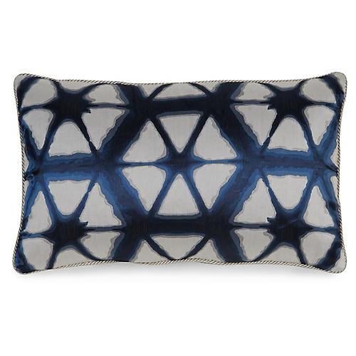 Entangle 12x20 Pillow, Indigo