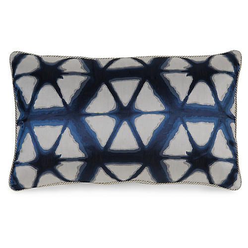 Entangle 12x20 Pillow, Indigo