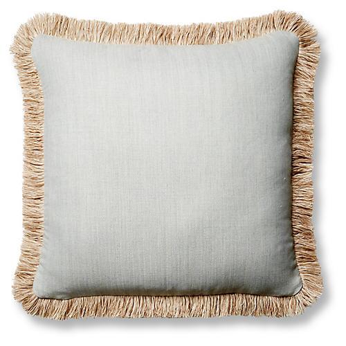 Boss 20x20 Pillow, Spa Blue Sunbrella