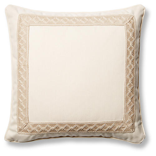 Sail 20x20 Pillow, Natural Sunbrella