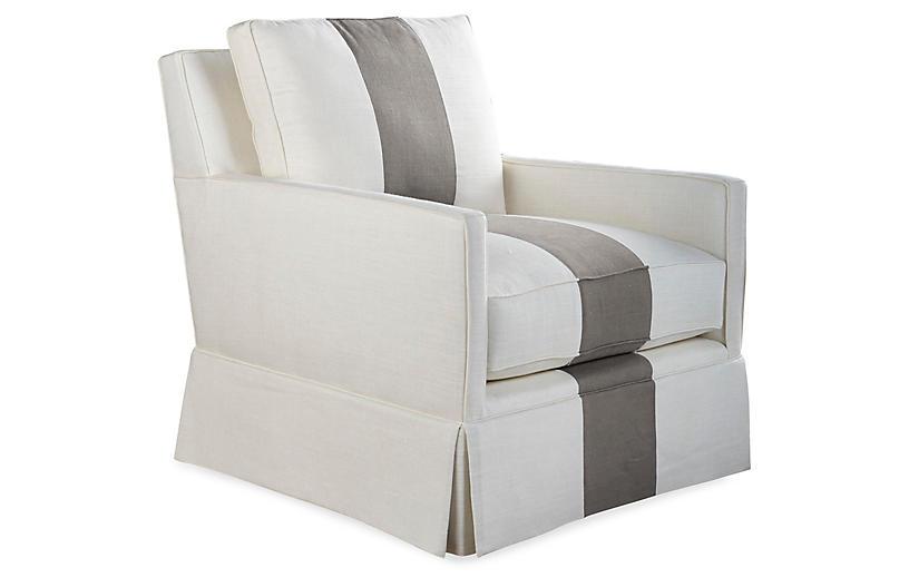 Auburn Swivel Chair - Miles Talbott
