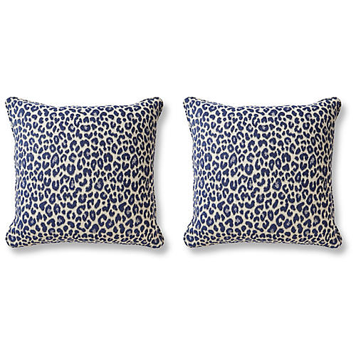 S/2 Shira Pillows, Indigo
