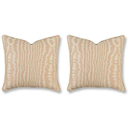 S/2 Vindelle 20x20 Pillows, Blush
