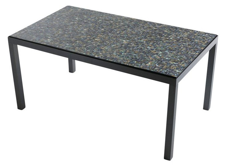 Abalone Mosaic Cocktail Table