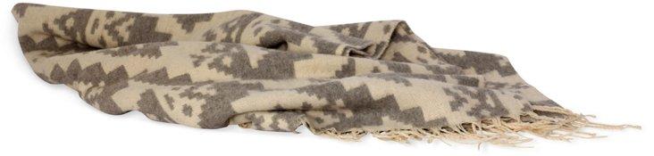 Geometric Alpaca Blanket