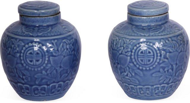 Chinese Jars, Pair