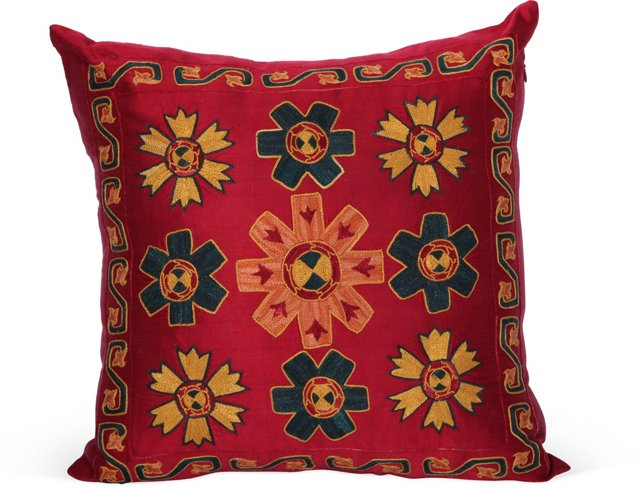 Turkish Embroidered Pillow II